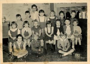 Junior Kindergarten - 1957-58