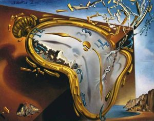 Salvadore Dali's The Melting Watch